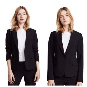 💕Theory Black Gab Single Button Tailored Blazer